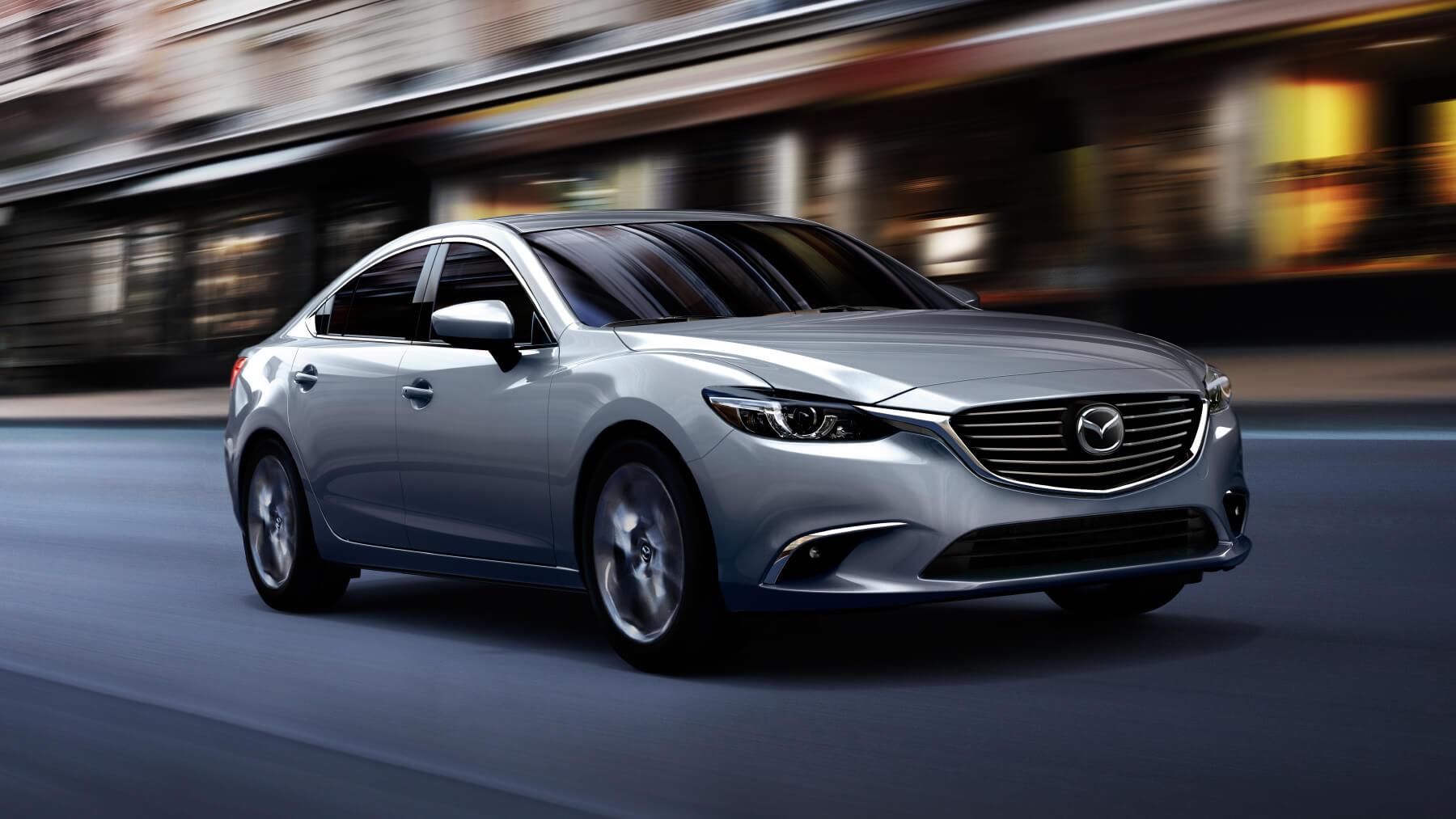 2016 Mazda 6 Sedan. Vs. 2016 Ford Fusion