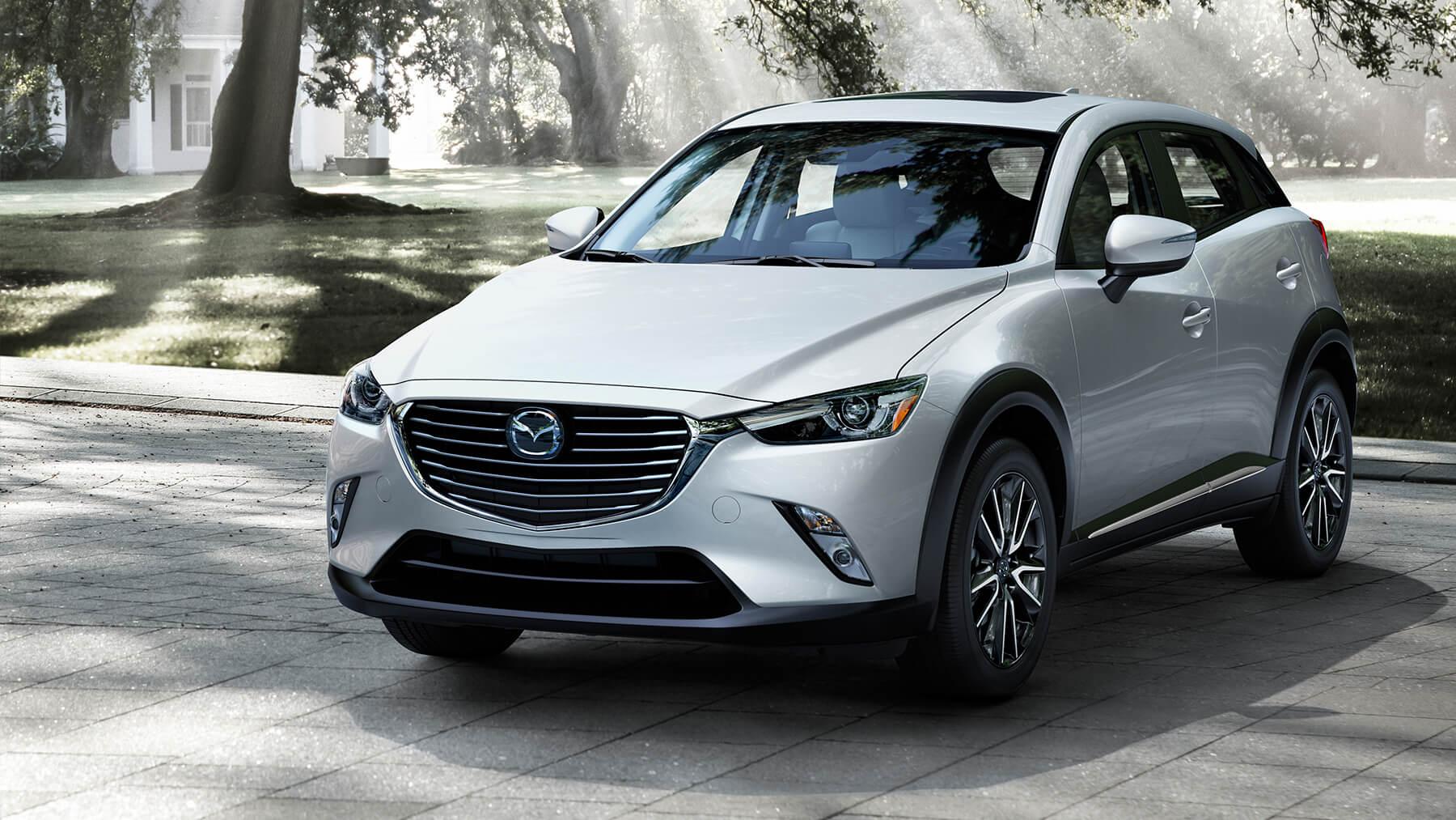Mazda CX-3 2017, white pearl