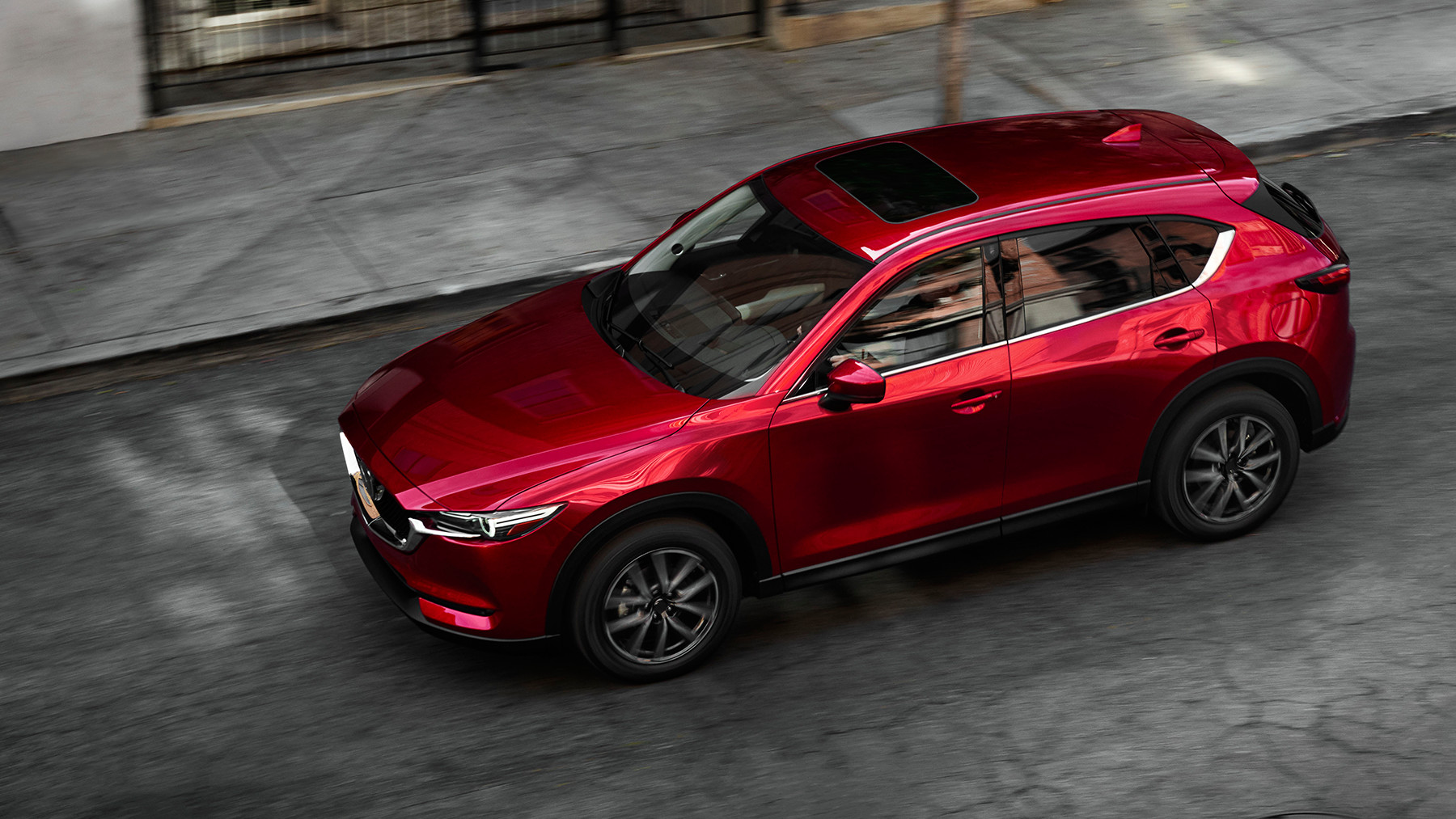 New Mazda CX-5 front view