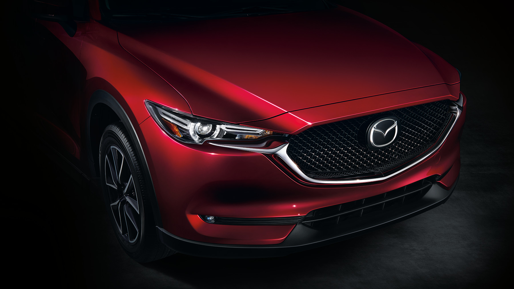 New Mazda CX-5 interior view