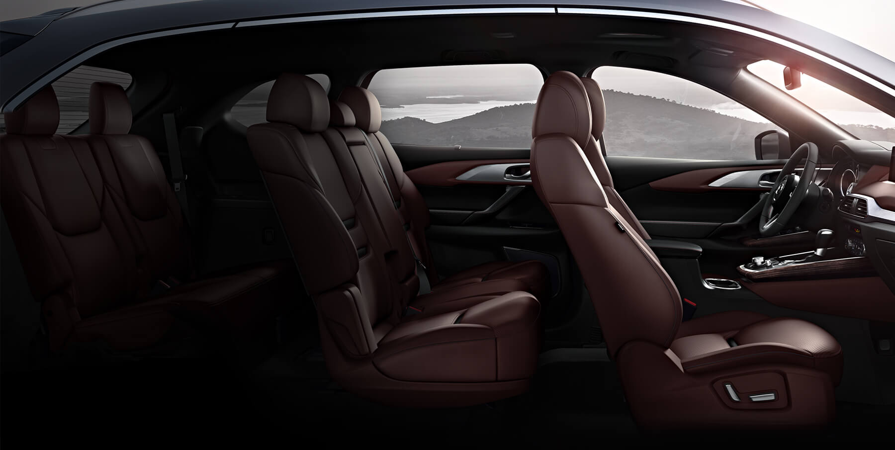Mazda cx9 interior