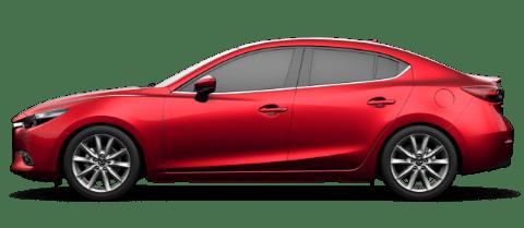 Mazda3 de 2017 de 4 puertas