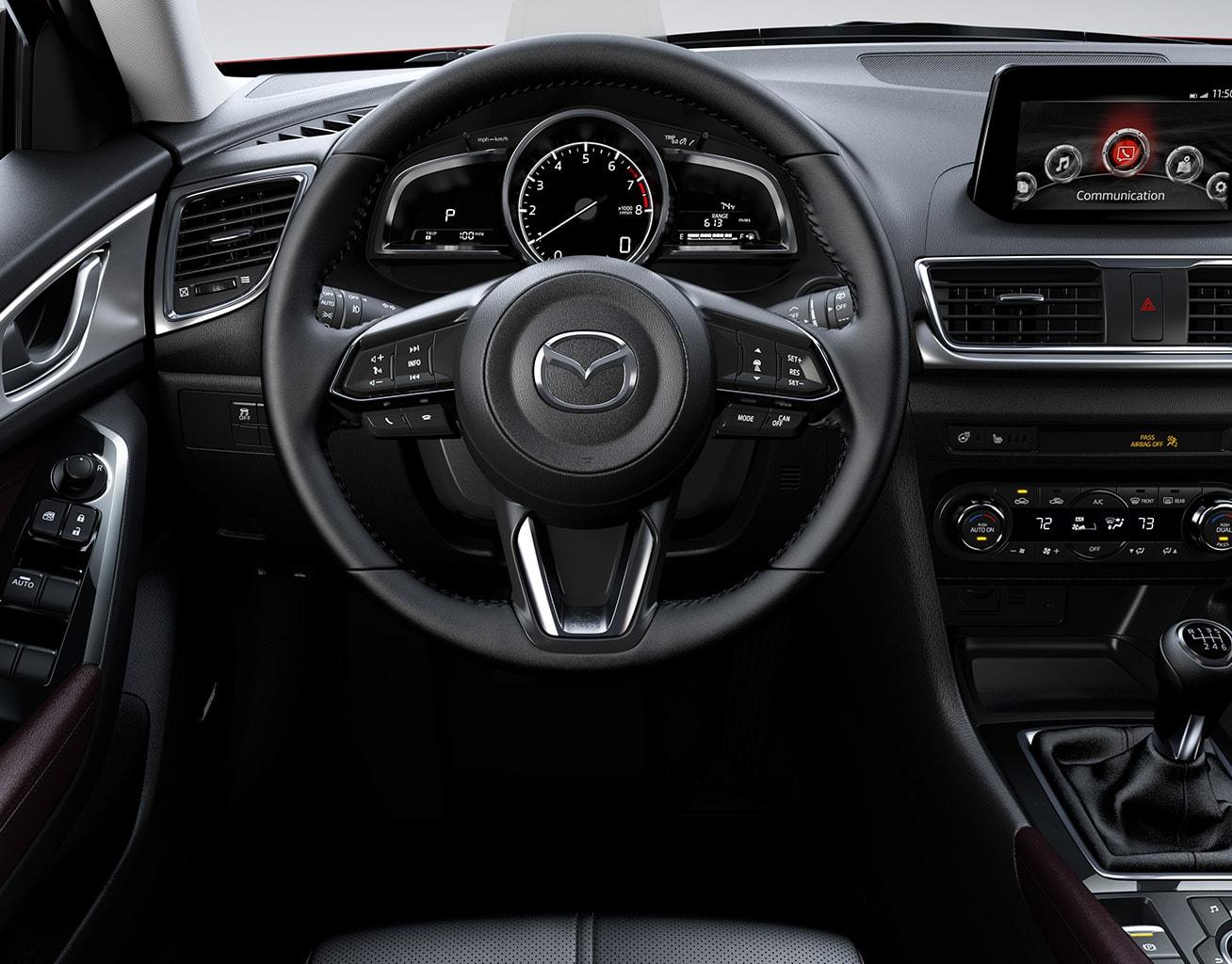 2017 Mazda 3 Hatchback Fuel Efficient Compact Car