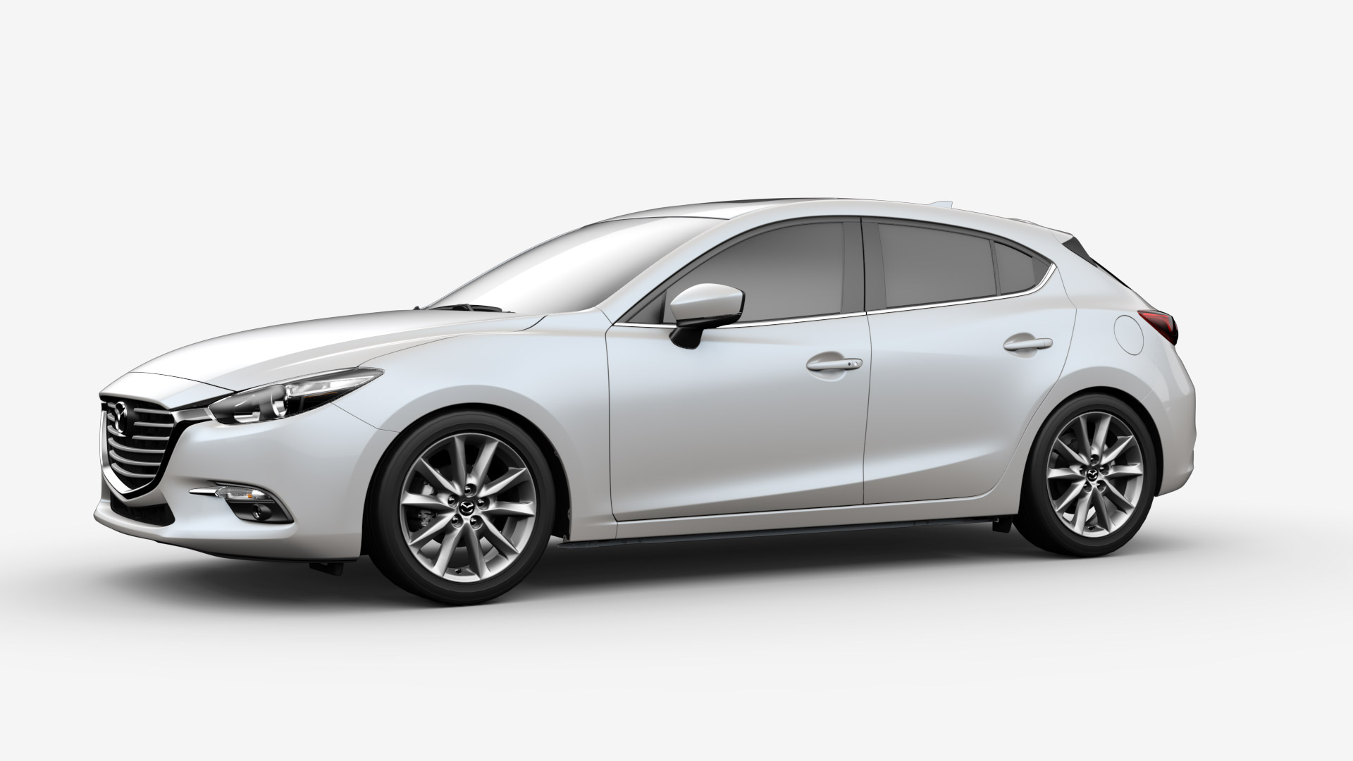2017 mazda 3 hatchback white pictures to pin on pinterest pinsdaddy. Black Bedroom Furniture Sets. Home Design Ideas