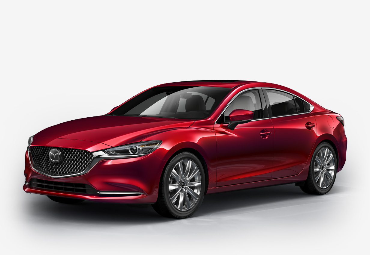 Mazda 6 Sport - Turbocharged Sports Sedan Mid Size Cars