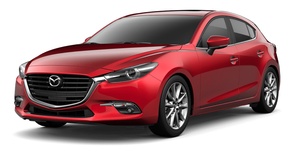 2018 Mazda 3 Hatchback trims – grand touring