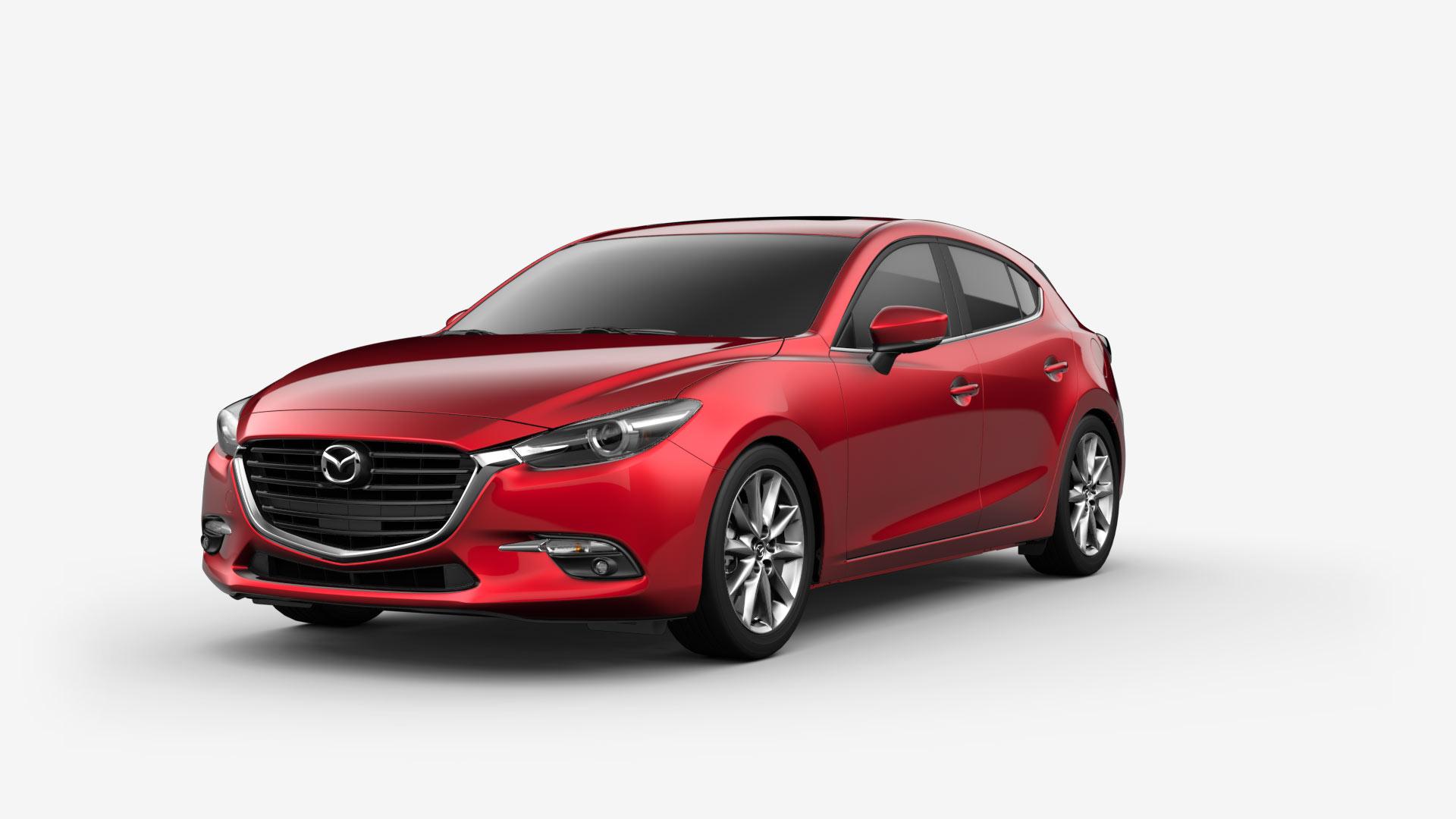 2018 Mazda 3 Hatchback Fuel Efficient Compact Car Mazda Usa