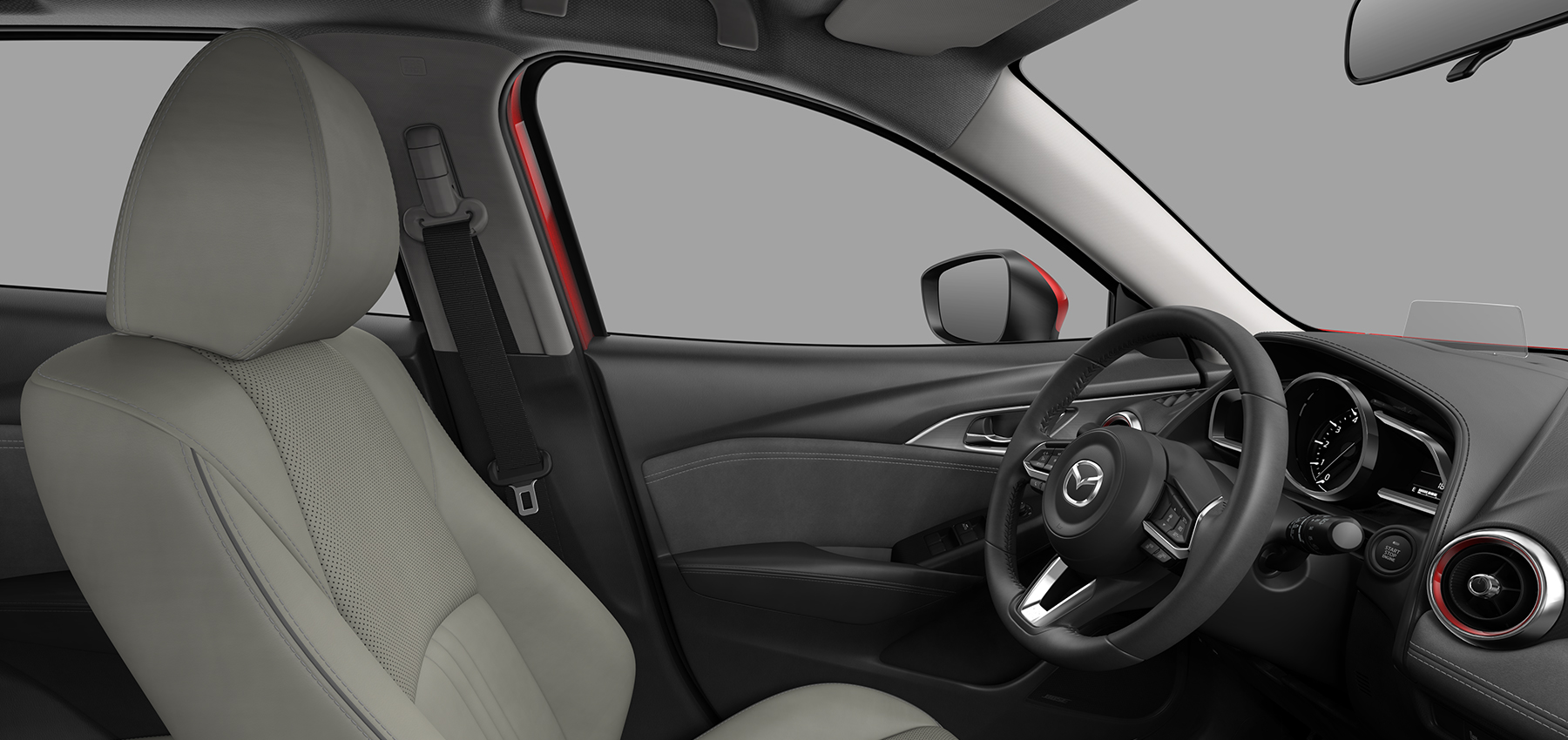 Mazda 3 Owners Manual: Outside Mirrors