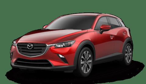 2019 Mazda CX-3内饰 – touring