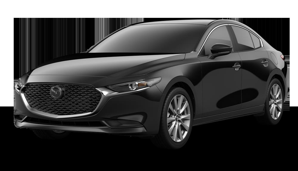 New 2019 Mazda3 Sedan w/Select Pkg