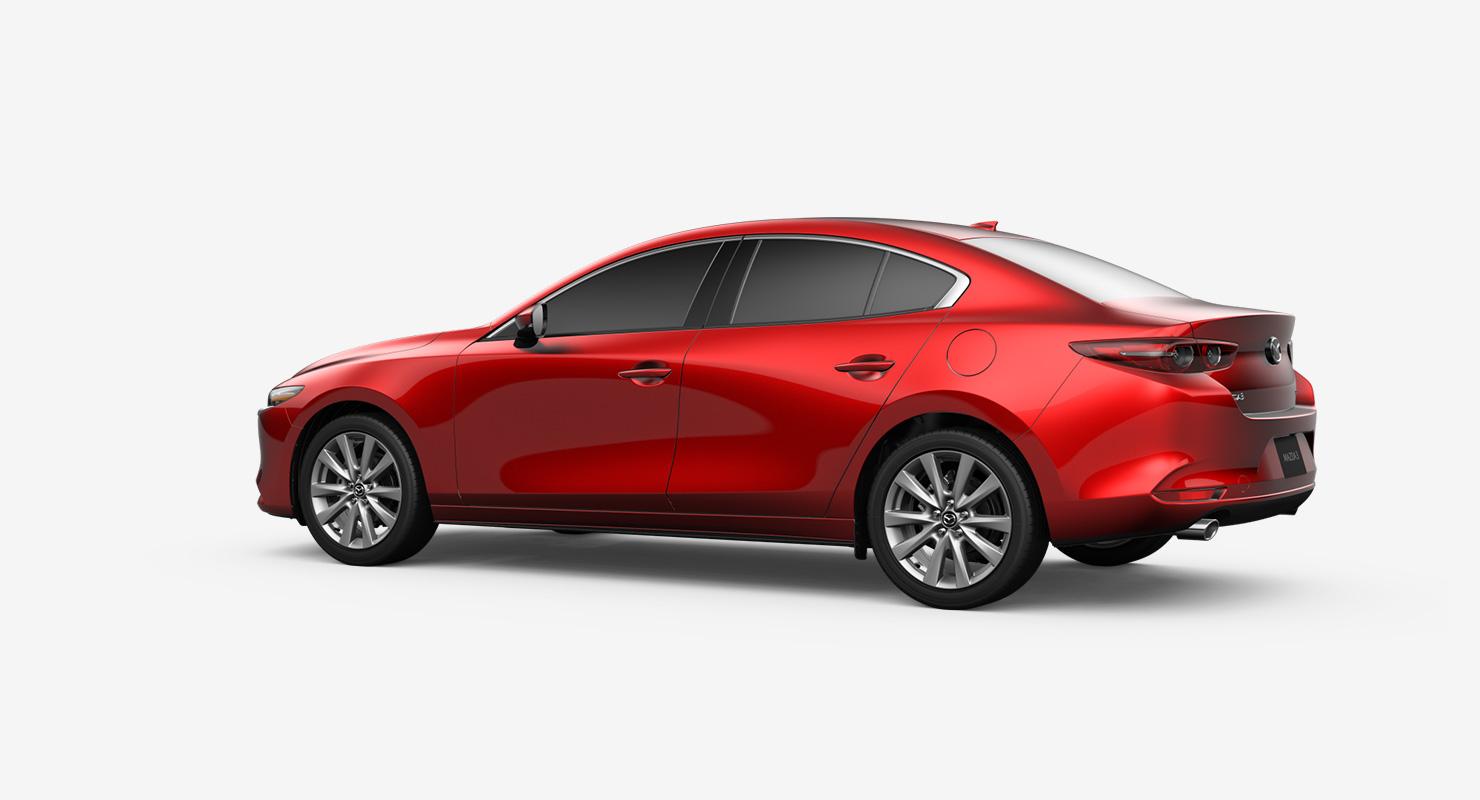 Mazda 3 Sport >> 2019 Mazda 3 Sedan Premium Awd Compact Car Mazda Usa