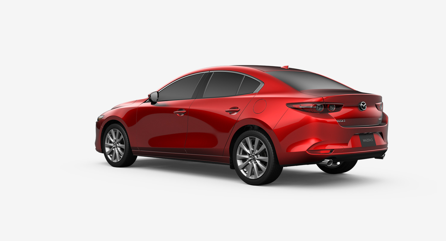 2019 Mazda 3 Sedan Premium Awd Compact Car Mazda Usa