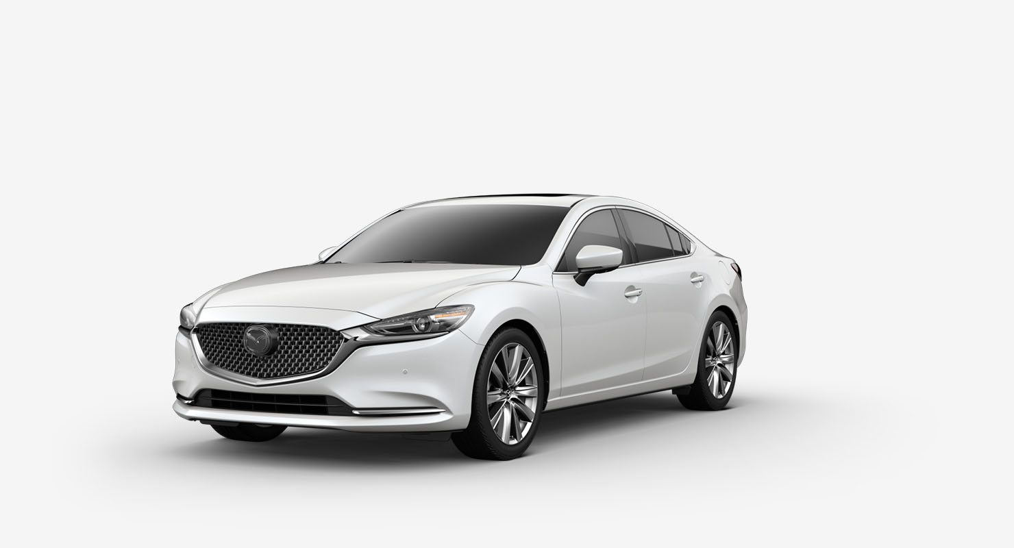 2019 Mazda 6 Turbocharged Sports Sedan Mid Size Cars