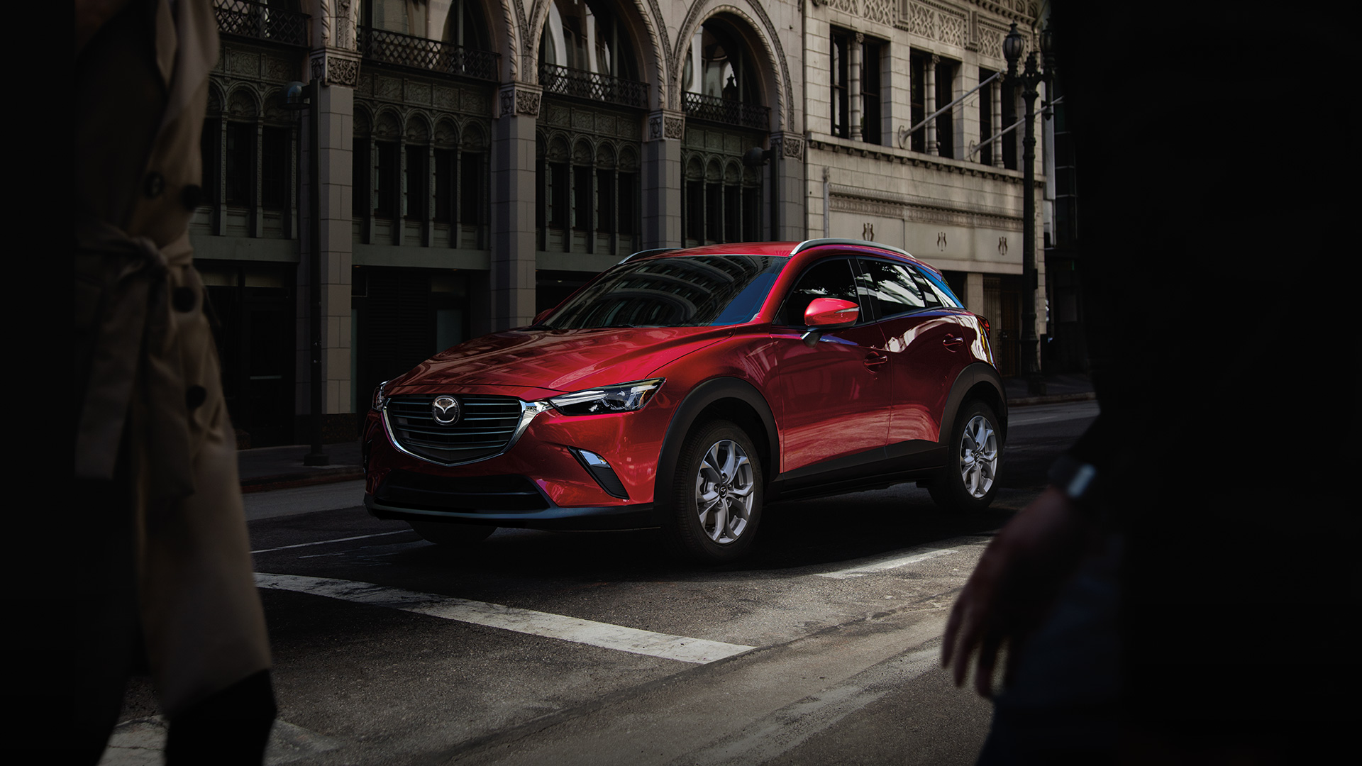 Red Mazda CX-3