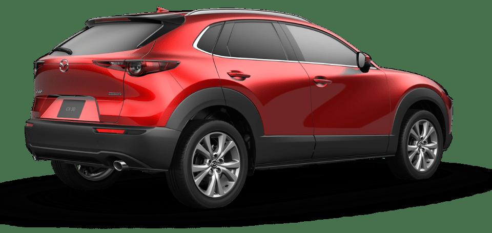 Red Mazda CX-30
