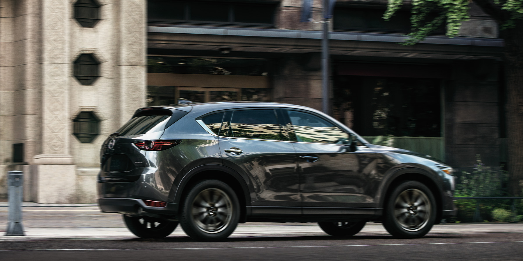 2020 Mazda CX-5 in the city