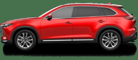 Reliable Red Mazda CX-9 SUV