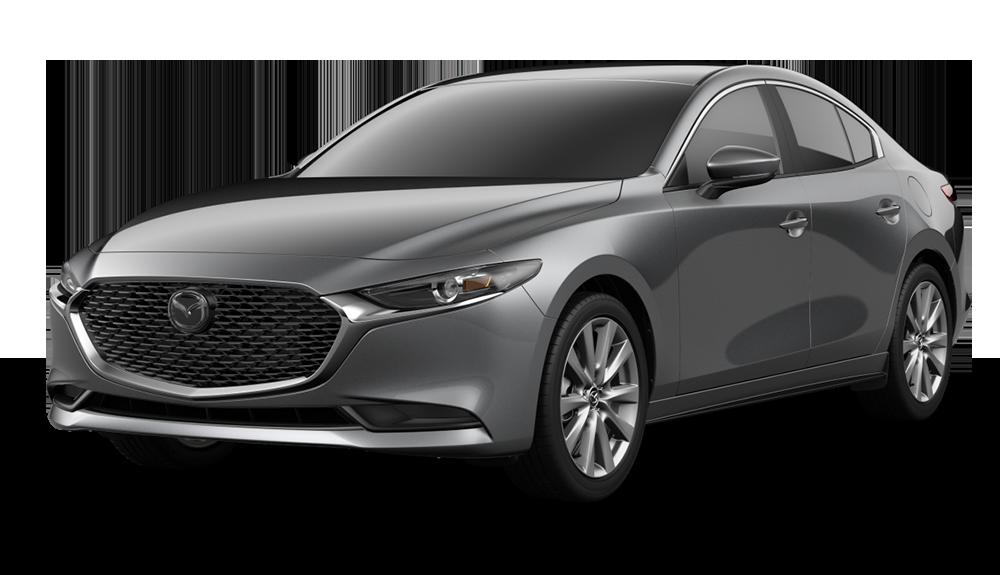 New 2020 Mazda3 4DR AWD W/SELECT PKG