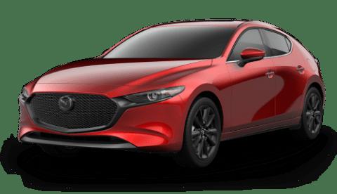 Mazda 2021 3: Hatchback – Soul Red Crystal Metallic