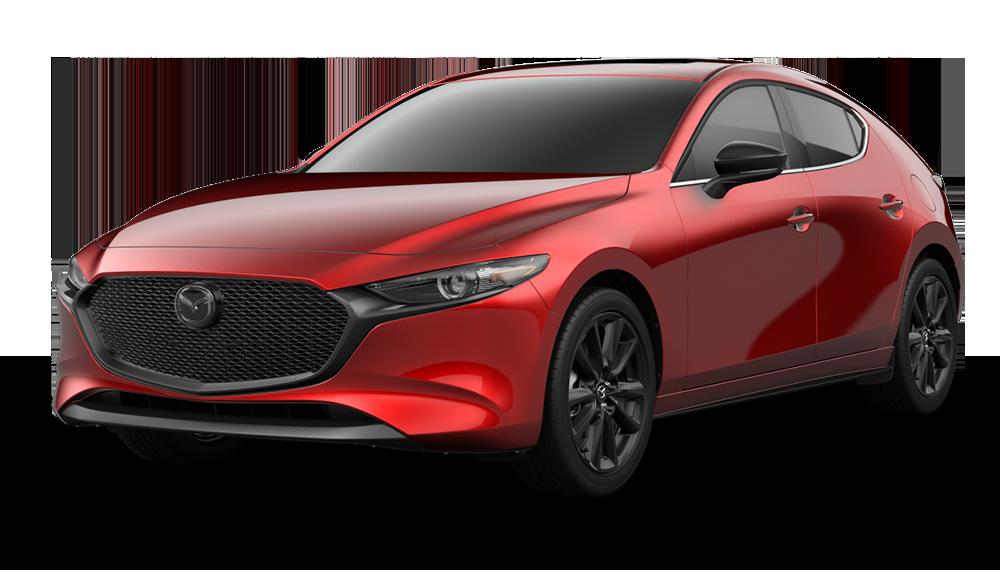 new 2021 mazda mazda3 2.5 turbo 4d hatchback in wexford #